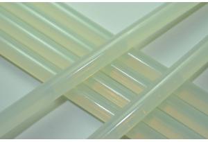 Термоклей 11 мм, полупрозрачный, длина 27 см