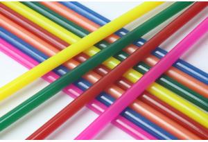 Термоклей 7 мм, набор 12 шт, цветной микс, длина 18 см
