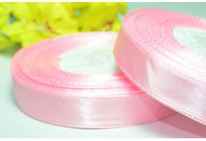 Атласная лента 1.2 см, светло-розовая