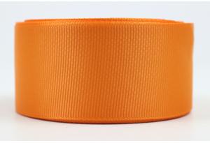 Репсовая лента 4 см, оранжевая