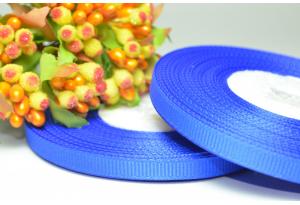 Репсовая лента 0.6 см, синяя