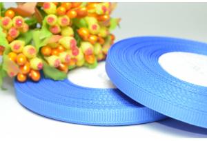 Репсовая лента 0.6 см, светло-синяя, 239
