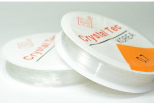 Леска силиконовая эластичная 0,7 мм, рулон 10 м