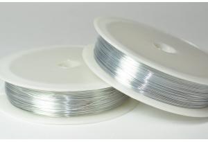 Проволока 0,3 мм, рулон 46 м, цвет - серебро