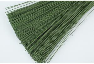 Проволока флористическая 0,5 мм, длина - 60 см, зеленая
