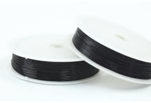 Проволока 0,3 мм, рулон 46 м, черная