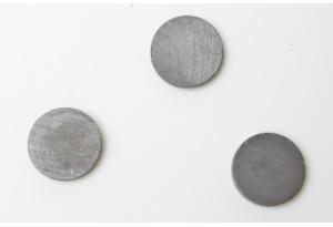 Магнит ферритовый, круглый 17x3 мм