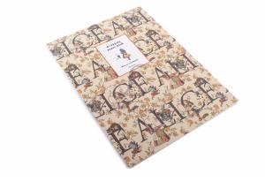 Скрапбукинг, набор бумаги Алиса, 16 листов, 30,4x22,5 см