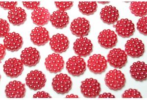 Ежевичка, 10 мм, красная