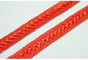 Тесьма Самоса, 2 см, красная
