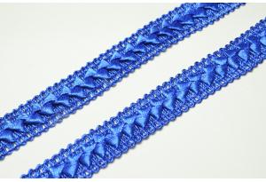 Тесьма Самоса, 2 см, синяя
