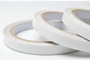 Двухсторонний скотч тонкий, 7 мм, белый