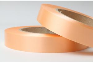 Полипропиленовая лента 2 см, персиковая