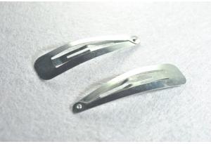 Заколка клик-клак, 3,2 см, металл
