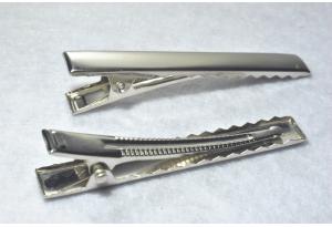 Заколка крокодил, 5.5 см, металл